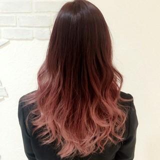 ストリート グラデーションカラー イルミナカラー ベージュ ヘアスタイルや髪型の写真・画像