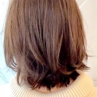 ナチュラル 銀座美容室 ミニボブ レイヤーボブ ヘアスタイルや髪型の写真・画像