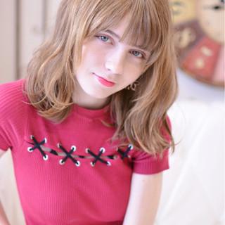 秋 大人かわいい ラフ ガーリー ヘアスタイルや髪型の写真・画像