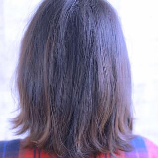 大人かわいい グラデーションカラー 外ハネ 抜け感 ヘアスタイルや髪型の写真・画像