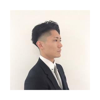 メンズショート メンズ オフィス ショート ヘアスタイルや髪型の写真・画像