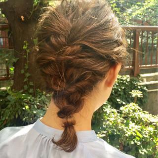 結婚式 ヘアアレンジ ボブ くるりんぱ ヘアスタイルや髪型の写真・画像 ヘアスタイルや髪型の写真・画像