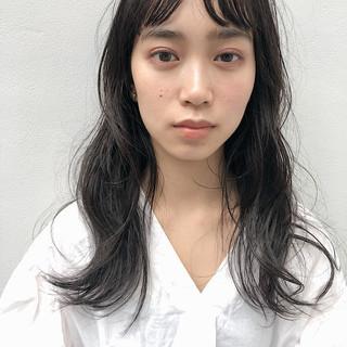 ロングヘアスタイル デジタルパーマ パーマ 大人ロング ヘアスタイルや髪型の写真・画像