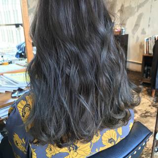 ヘアアレンジ ガーリー オルチャン グレージュ ヘアスタイルや髪型の写真・画像
