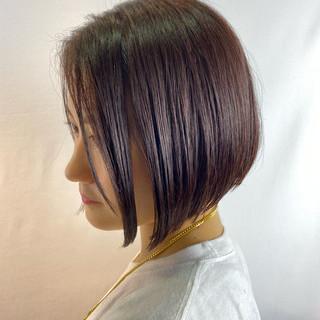 ショートヘア インナーカラー ショートボブ ボブ ヘアスタイルや髪型の写真・画像