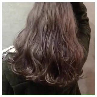 外国人風 デザインカラー ロング インナーカラー ヘアスタイルや髪型の写真・画像