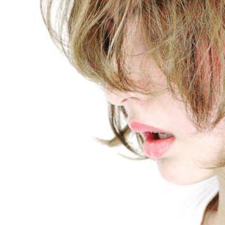 外国人風 ボブ 大人かわいい アッシュ ヘアスタイルや髪型の写真・画像