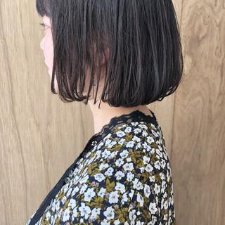 ハンサムショート ボブ 切りっぱなしボブ ミニボブ ヘアスタイルや髪型の写真・画像 ヘアスタイルや髪型の写真・画像