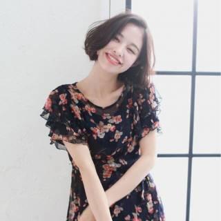 モテ髪 秋 外国人風カラー 愛され ヘアスタイルや髪型の写真・画像