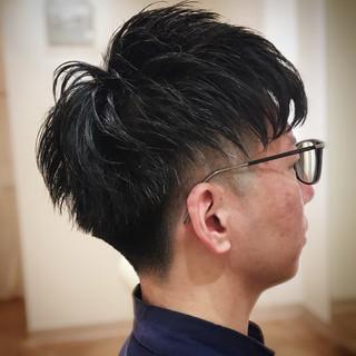 メンズ ツーブロック ストリート 刈り上げ ヘアスタイルや髪型の写真・画像