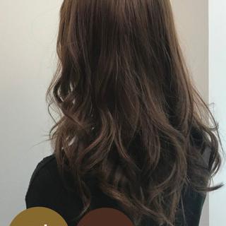 ブランジュ イルミナカラー 圧倒的透明感 大人ロング ヘアスタイルや髪型の写真・画像