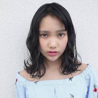 ガーリー ミディアム 外国人風カラー 秋 ヘアスタイルや髪型の写真・画像
