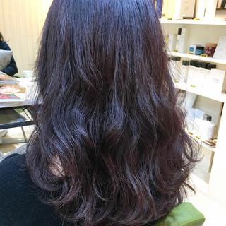 ダブルカラー セミロング アッシュ デート ヘアスタイルや髪型の写真・画像 ヘアスタイルや髪型の写真・画像