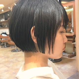 ショートヘア ショートボブ ショート 大人かわいい ヘアスタイルや髪型の写真・画像