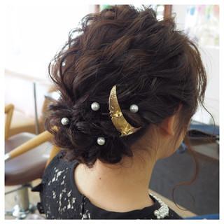 モテ髪 ナチュラル ヘアアレンジ 愛され ヘアスタイルや髪型の写真・画像