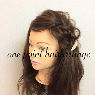結婚式 フェミニン ショート 簡単ヘアアレンジ ヘアスタイルや髪型の写真・画像 ヘアスタイルや髪型の写真・画像