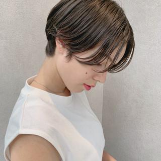 パーマ 大人かわいい フェミニン ショート ヘアスタイルや髪型の写真・画像