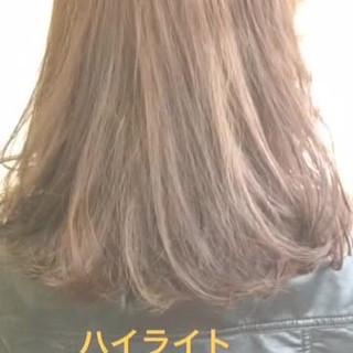 かっこいい グラデーションカラー ストリート ミディアム ヘアスタイルや髪型の写真・画像