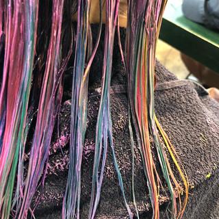 ストリート スポーツ ネイビーアッシュ イルミナカラー ヘアスタイルや髪型の写真・画像