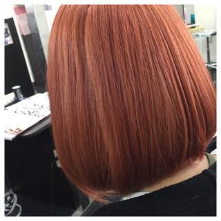 ガーリー 外国人風カラー イルミナカラー ボブ ヘアスタイルや髪型の写真・画像