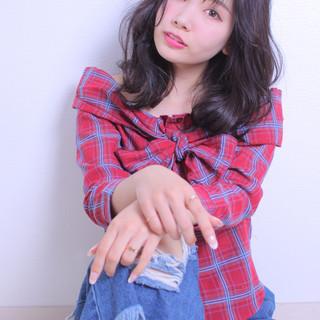 撮影 デート モテ髪 アンニュイほつれヘア ヘアスタイルや髪型の写真・画像