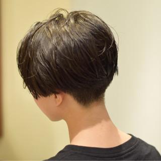 モード 大人女子 ジェンダーレス ショート ヘアスタイルや髪型の写真・画像