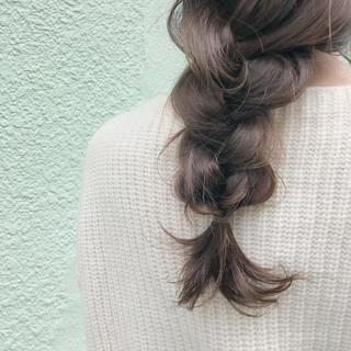 オフィス エフォートレス 透明感 ガーリー ヘアスタイルや髪型の写真・画像