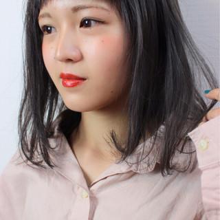 ミディアム 上品 エレガント 外国人風カラー ヘアスタイルや髪型の写真・画像