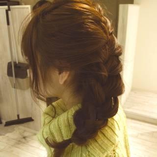 モテ髪 愛され ミディアム コンサバ ヘアスタイルや髪型の写真・画像