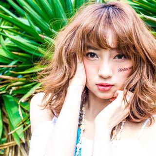 外国人風 アッシュ モード フェミニン ヘアスタイルや髪型の写真・画像
