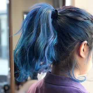 ロング 外国人風カラー 個性的 モード ヘアスタイルや髪型の写真・画像