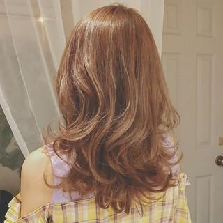 ロング 大人かわいい 透明感 ゆるふわ ヘアスタイルや髪型の写真・画像