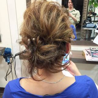 モテ髪 結婚式 渋谷系 ヘアアレンジ ヘアスタイルや髪型の写真・画像
