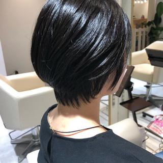 ナチュラル可愛い ショートヘア 小顔ショート 簡単ヘアアレンジ ヘアスタイルや髪型の写真・画像