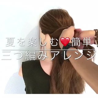 涼しげ エレガント ヘアアレンジ 女子会 ヘアスタイルや髪型の写真・画像