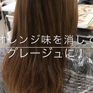 ナチュラル 透明感 冬 イルミナカラー ヘアスタイルや髪型の写真・画像