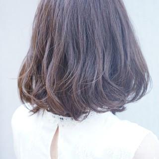 かわいい 美シルエット ナチュラル ボブ ヘアスタイルや髪型の写真・画像