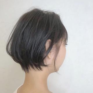 ショートボブ ハンサムショート 小顔ショート ショート ヘアスタイルや髪型の写真・画像