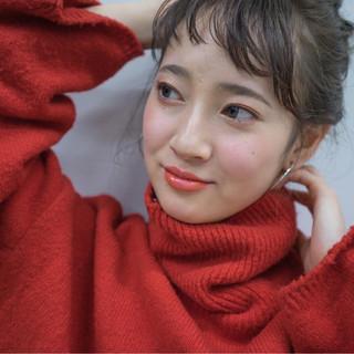 井上瑛絵さんのヘアスナップ