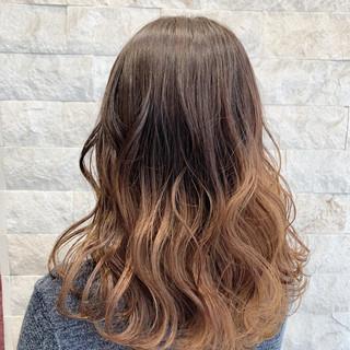 ブリーチオンカラー グラデーションカラー フェミニン 外国人風カラー ヘアスタイルや髪型の写真・画像 ヘアスタイルや髪型の写真・画像