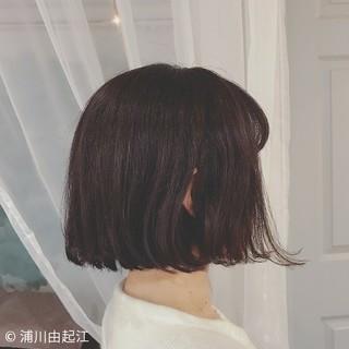 デート 大人かわいい ボブ スポーツ ヘアスタイルや髪型の写真・画像 | 浦川由起江 / nanon