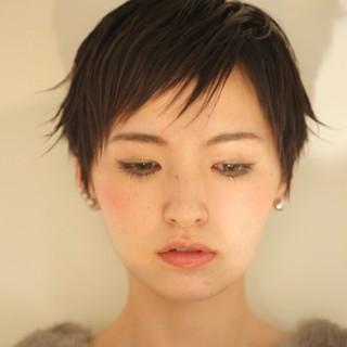 ウェットヘア 前髪あり アッシュ モード ヘアスタイルや髪型の写真・画像 ヘアスタイルや髪型の写真・画像