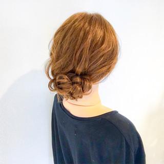 上品 結婚式 エレガント ロング ヘアスタイルや髪型の写真・画像