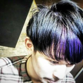 パーマ 外国人風 黒髪 モード ヘアスタイルや髪型の写真・画像