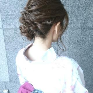 雨の日 デート 女子会 セミロング ヘアスタイルや髪型の写真・画像