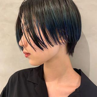 ショートボブ 似合わせカット PEEK-A-BOO ショート ヘアスタイルや髪型の写真・画像