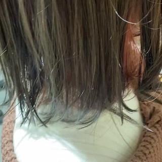 インナーカラー ブリーチ必須 ダメージレス イルミナカラー ヘアスタイルや髪型の写真・画像
