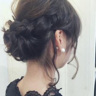 大人かわいい フェミニン ルーズ ヘアアレンジ ヘアスタイルや髪型の写真・画像