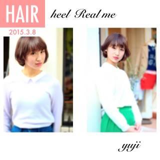 愛され フェミニン モテ髪 ストリート ヘアスタイルや髪型の写真・画像