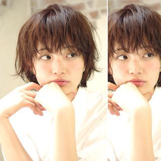 前髪あり ピュア ガーリー 外国人風 ヘアスタイルや髪型の写真・画像